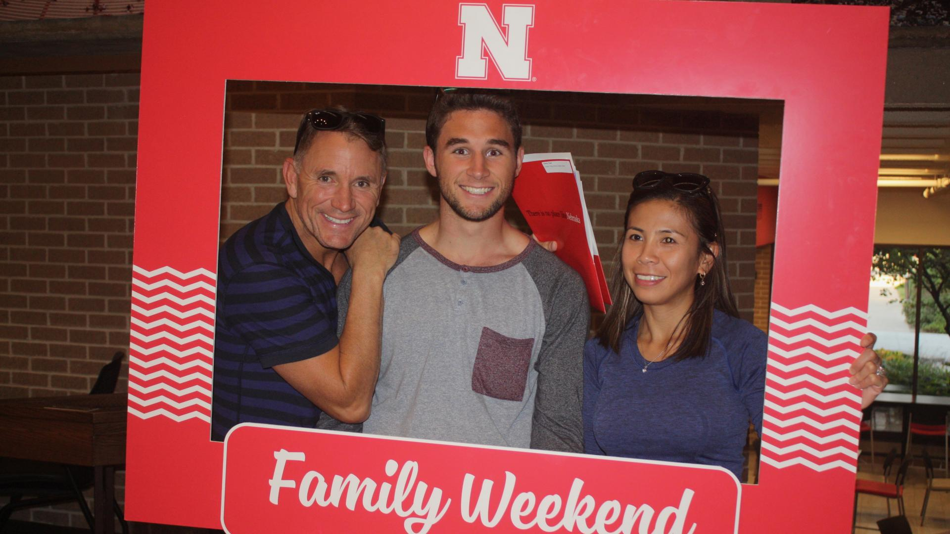 Family Weekend at the University of Nebraska-Lincoln